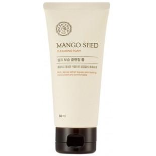 THE FACE SHOP Mango Seed Cleansing Foam/Увлажняющая пенка для умывания с маслом манго 50мл