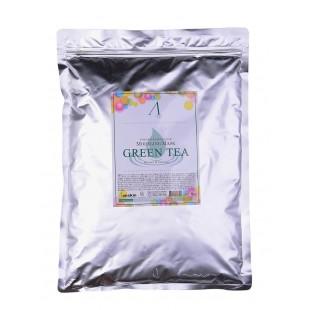 ANSKIN Modeling Mask Green Tea For Balance & Calming/ Альгинатная маска с экстрактом зеленого чая 1кг
