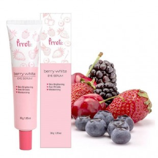 PRRETI Berry White Eye Serum/Сыворотка с ягодными экстрактами для кожи вокруг глаз 30 мл.