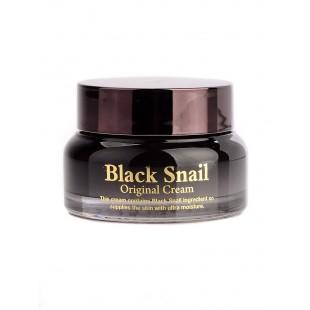 Black Snail Original Cream/Крем для лица с муцином черной улитки 50ml