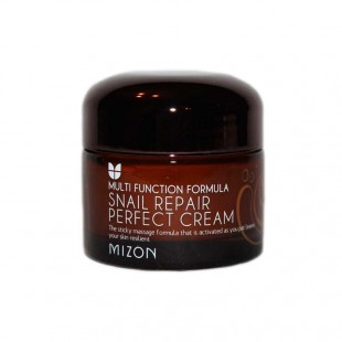 MIZON Snail Repair Perfect Cream/Многофункциональный восстанавливающий крем со слизью улитки 50 ml