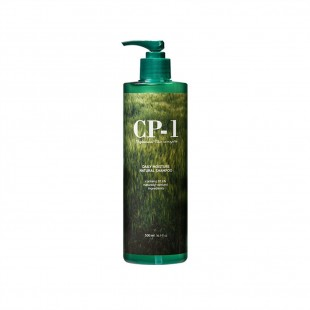 Esthetic House CP-1 Daily Moisture Natural Shampoo /Натуральный шампунь с протеинами и зеленым чаем 500мл