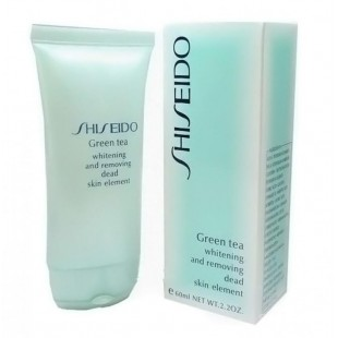 SHISEIDO GREEN TEA Пилинг-гель для лица
