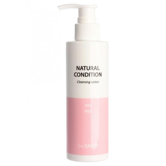 THE SAEM Natural Condition Cleansing Lotion Mild/Лосьон очищающий для лица 180 мл.