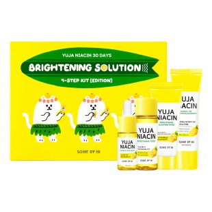 SOME BY MI Yuja Niacin 30 Days Brightening Solution 4-Step Kit/Набор для лица с экстрактом юдзу.