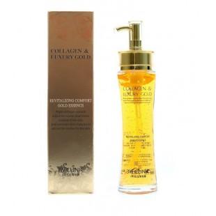 3W Clinic Collagen & Luxury Gold Revitalizing Essence/Восстанавливающая эссенция жидкий коллаген с золотом 150ml