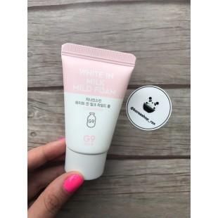 BERRISOM G9 White in Milk Mild Foam/Мягкая молочная пенка для умывания 30 ml