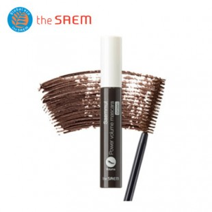 THE SAEM Saemmul Power Volume Brown Mascara/коричневая тушь