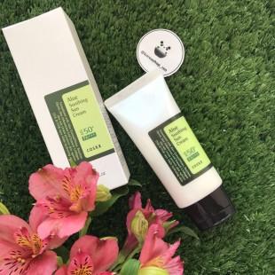COSRX Aloe Soothing Sun Cream SPF50+ PA+++50ml/Солнцезащитный крем с экстрактом алое SPF50+
