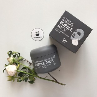 BERRISOM G9 Skin Color Clay Carbonated Bubble / Глиняная пузырьковая маска