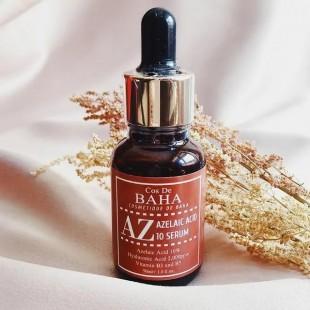 COS DE BAHA AZ Azelaic Acid 10 Serum /Сыворотка противовоспалительная с азелаиновой кислотой 30 мл.