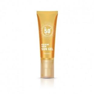 Deoproce Hyaluronic Cooling Sun Gel SPF50+/PA+++/ Легкий освежающий солнцезащитный гель с гиалуроновой кислотой 50 мл.