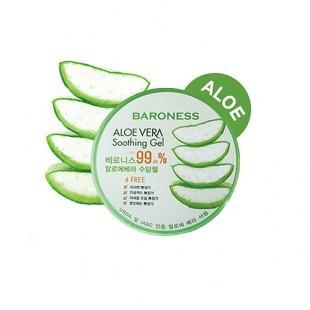 Baroness Aloe Vera 99% soothing gel /Универсальный увлажняющий гель с экстрактом алоэ вера (99%) 300ml