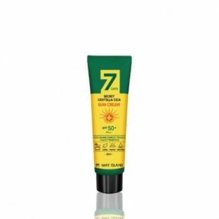May Island 7 Days Secret Centella Cica Sun Cream SPF 50+ / PA+++/ Солнцезащитный крем с экстрактом центеллы 30мл