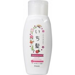 Kracie Ichikami/Японский шампунь разглаживающий с ароматом горной сакуры 150мл