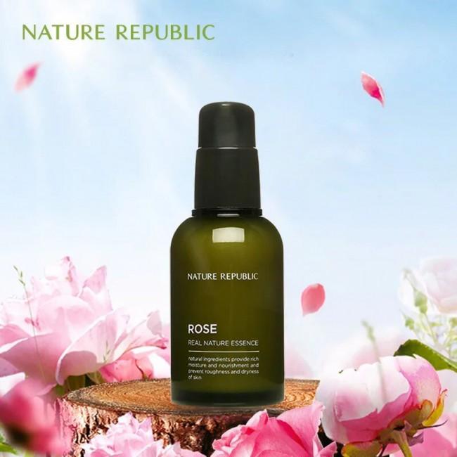 NATURE REPUBLIC Rose Real Nature Essence/Эссенция с экстрактом розы 50 мл.
