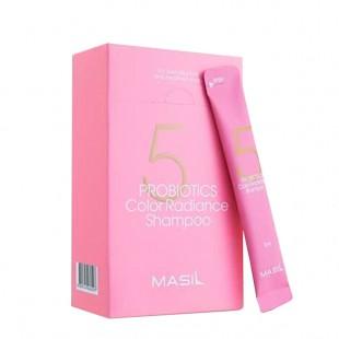 MASIL 5 Probiotics Color Radiance Shampoo/Шампунь для защиты цвета волос 8 мл.