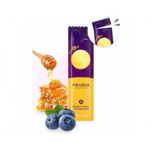 FRUDIA Blueberry Honey Overnight Mask/Маска ночная с медом и черникой 5 мл.