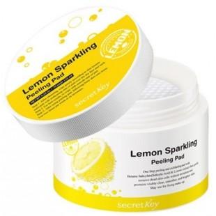 Secret Key Lemon Диски ватные для пилинга Lemon Sparkling Peeling Pad 70шт