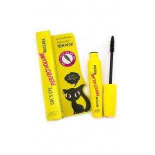 JIGOTT Cat`s Eye Perfect Volume Mascara/Тушь для придания объема 12 гр.