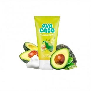 Scinic Avocado Сleansing Foam/Пенка для умывания с авокадо 150ml