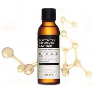 SOME BY MI Galactomyces Pure Vitamin C Glow Toner/Тонер с витамином С и галактомисисом для сияния кожи 200 мл.