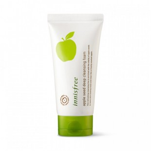 INNISFREE Apple Seed Deep Cleansing Foam /Очищающая пенка с экстрактом яблока 150ml
