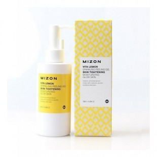 MIZON Vita Lemon Sparkling Peeling Gel / Витаминный пилинг-гель с экстрактом лимона