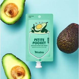 BERRISOM Petite Pocket Avocado Moisture Cream/Крем для лица с экстрактом авокадо 30 г.