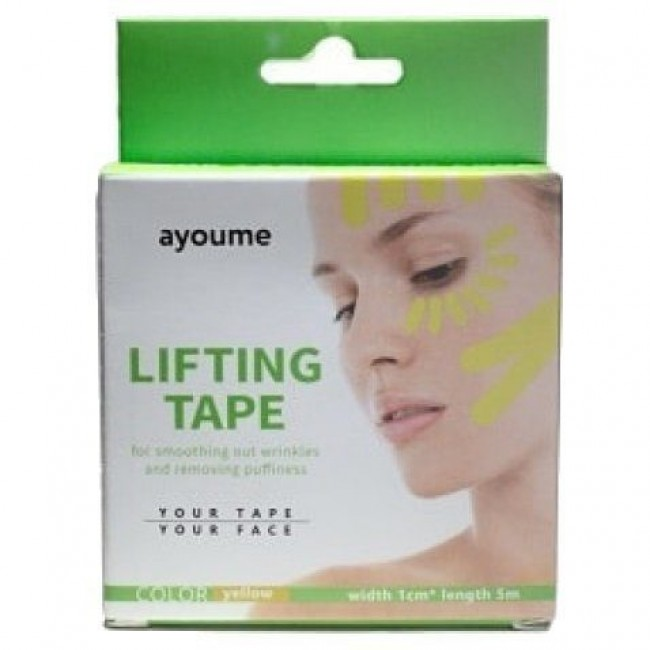 AYOUME Lifting Tape 1 cm/Тейп для лица 1 см*5 м.