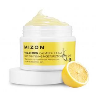 Mizon Vita Lemon Calming Cream/ Восстанавливающий крем для лица с экстрактом лимона 50 мл