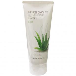 THE FACE SHOP Herb Day 365 Cleansing Foam/Ежедневная пенка с растительными экстрактами