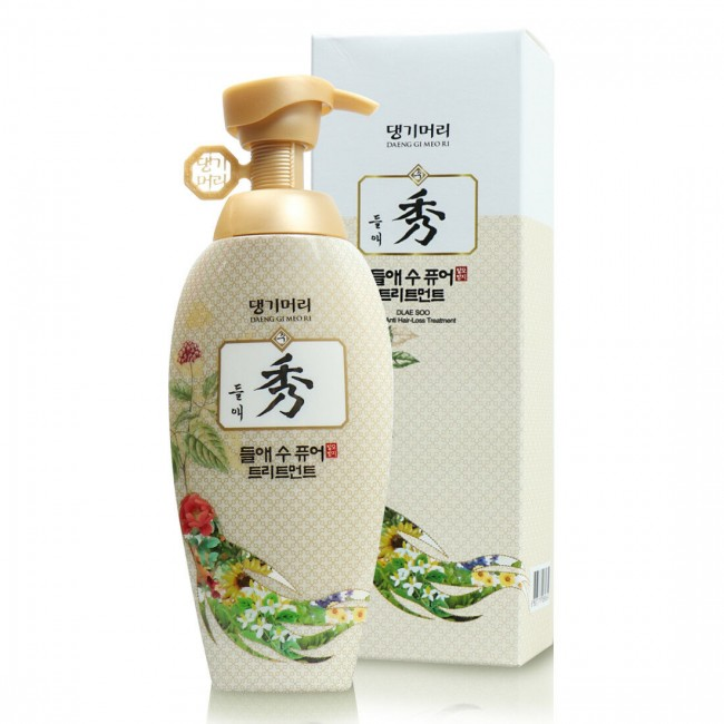DAENG GI MEO RI Dlae Soo Pure Hair Loss Care Treatment/Укрепляющий кондиционер на основе восточных трав 400 мл.