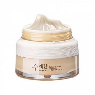 THE SAEM Sooyeran Radiance Mask/Ночная маска для яркости кожи