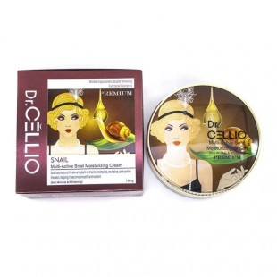 DR.CELLIO Multi-Active Snail Moisturizing Cream/Крем для лица с муцином улитки 100 мл.