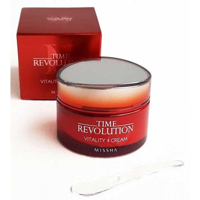 Missha Time Revolution Vitality Cream 50 ml/Интенсивный антивозрастной крем
