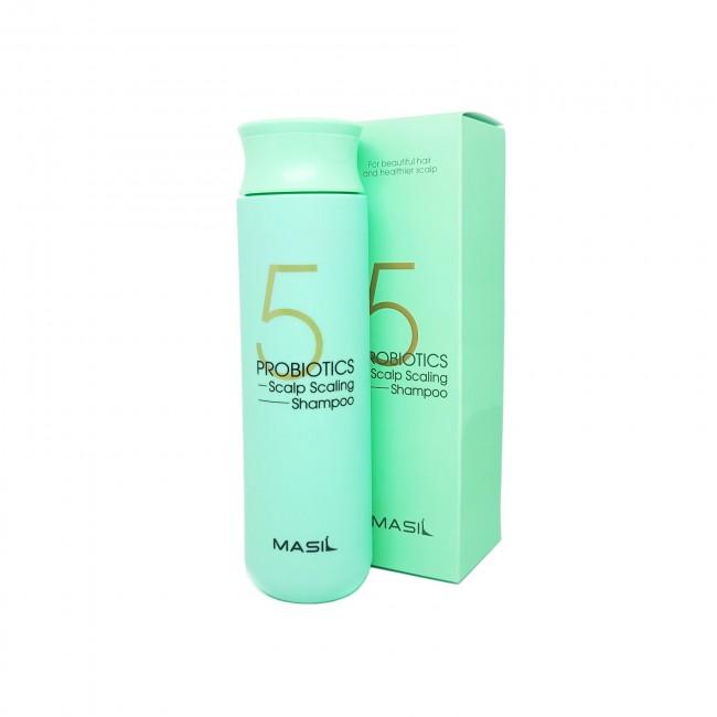 MASIL 5 Probiotics Scalp Scaling Shampoo/Шампунь глубокоочищающий с пробиотиками 300 мл.