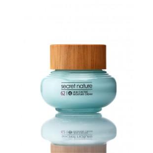 Secret Nature Jeju Cactus Moisture Cream 50ml/Разглаживающий крем для лица