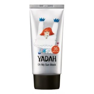 YADAH Oh My Sun Block SPF35 PA++/Успокаивающий солнцезащитный крем SPF35 PA++, 50 мл