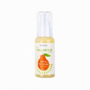 THE YEON Jeju Hallabong Energy Calming Pore Serum For Oily Skin/успокаивающая сыворотка для жирной кожи. 50ml