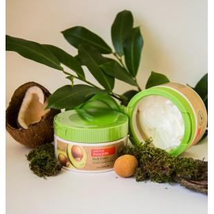 THE SAEM Care Plus Avocado Body Cream 300 ml Крем для тела с экстрактом авокадо
