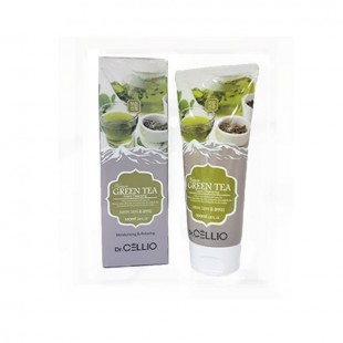 DR.CELLIO Green Tea Foam Cleansing/Пенка для умывания с экстрактом зеленого чая 100 мл.