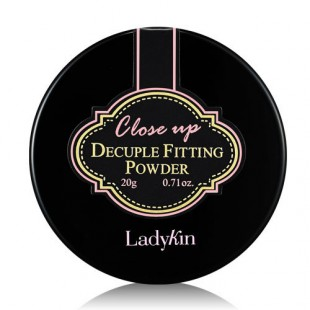 Ladykin Close Up Decuple Fitting Powder/ РАССЫПЧАТАЯ ПУДРА