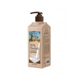MILK BAOBAB Perfume Shampoo White Musk/Шампунь с ароматом белого мускуса 500 мл.