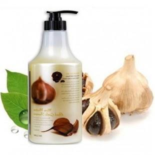 3W Clinic More Moisture Black Garlic Shampoo/ Увлажняющий шампунь с черным чесноком 1500мл