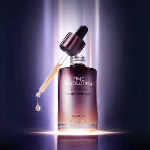 MISSHA Time Revolution Night Repair Probio Ampoule /Ночная восстанавливающая ампула 50мл