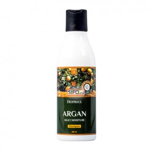 DEOPROCE Argan Silky Moisture Shampoo/ Восстанавливающий шампунь с аргановым маслом 200 мл.