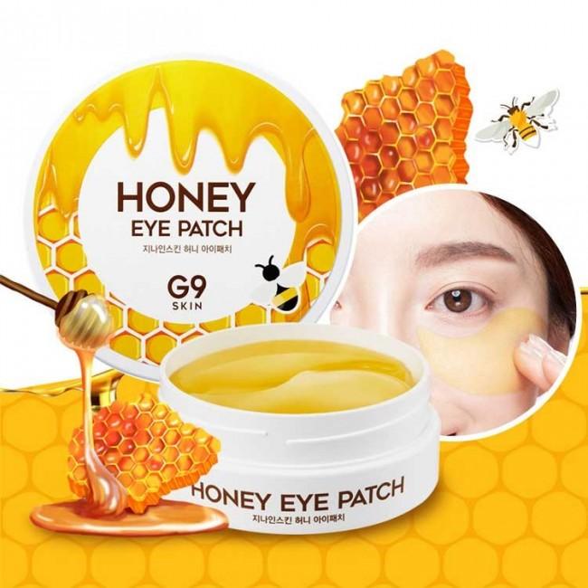 BERRISOM G9 Skin Honey Eye Patch/Гидрогелевые патчи для глаз с медом 60шт