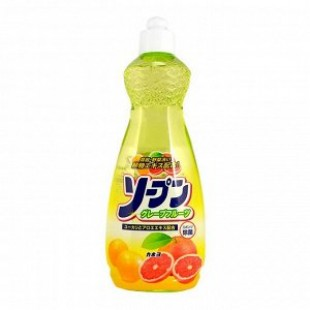 Kaneyo/Жидкость для мытья посуды овощей и фруктов грейпфрут 600 мл