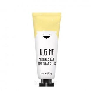 Secret Key Hug Me Moisture Steam Hand Cream Citrus /Увлажняющий паровой крем для рук 30 мл